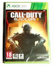 Call Of Duty Black Ops III (3) Neuf sous blister d'origine Jeu XBOX 360