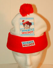 Classic Where's Waldo Character Knit Winter Cap Hat New NOS 2012
