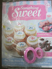 DEAGOSTINI SOMETHING SWEET MAGAZINE ISSUE 44 - WITH 2 DOUBLE ENDED OVAL CUTTERS
