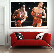 ROCKY Movie POSTER Roc8 Sylvester Stallone as Rocky Balboa 50x35 Boxing Wall Art