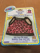 Webkinz Clothing  Leopard Tank With Online Code From Ganz Plush