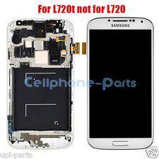 Samsung Galaxy S4 IV i9505 L720T LCD Screen Display with Digitizer & Frame White