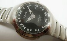 Seiko Premier Silver Tone Stainless Steel 7N39-0A78 Sample Watch NON-WORKING