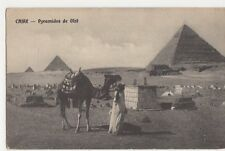 Egypt, Pyramides de Gize Postcard, B201