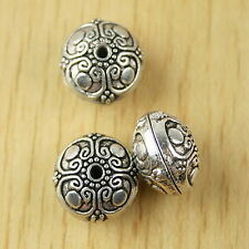 5pcs Tibetan silver 2sided delicate spacer beads h2583
