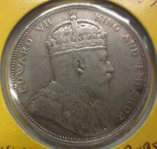 DOC020# Old Coin 1903 – One Dollar Straits Settlements Sarawak Borneo