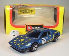 Bburago 1/43 cod.4133 Ferrari 512 BB University OVP #1504