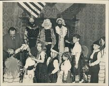 1937 Dr Fernando de Los Rios Spanish War Refugee Children Benefit Press Photo