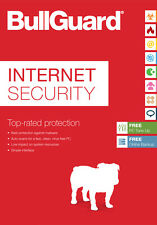Bullguard Internet Security 1 Year 1 User Digital Download Licence Key Only