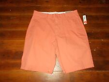"Old Navy Walking Bermuda Shorts Men Size 34"" NEW NWT Ultimate Slim Light Orange"