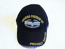ENDURING FREEDOM VETERAN EMBROIDERED BASEBALL CAP