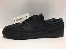 Nike SB Zoom Stefan Janoski Leather Black Ostrich 616490 007 Men's 9 No Lid