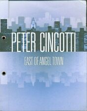Peter Cincotti - East Of Angel Town Rare 5 Tracks Promo Cd-R Cd Ottimo