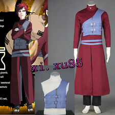 Cartoon Character COS Gaara Seventh generation Cosplay Costume Outfit Any Size