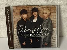 CD+Photo Card SUPER JUNIOR K.R.Y Promise You E.L.F Japan Limited Yesung