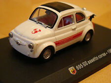 1/43 Fiat Abarth 695 SS assetto Corsa 1969 Abarth Collection Hachette