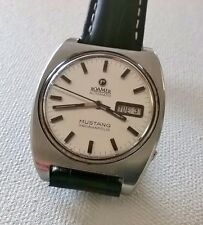 RARE ROAMER MUSTANG INDIANAPOLIS Automatic Gents Day/Date Watch 482-1120 601