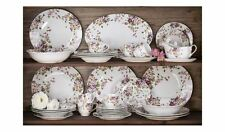 Vintage Dinner Set 35 Piece Dinner & Side Plates w/ Bowls Cups & More BRAND NEW