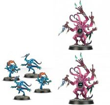 Warhammer Quest Silver Tower 2 x Pink Horrors & 4 x Blue Horrors Age of Sigmar