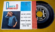 """Dusty Springfield Can i get a witness EP SPAIN edit  1965 (EX/EX) 7"""" Ç"""