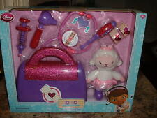 Disney Doc McStuffins Doctor Bag Play Set with Lambie NEW! NEVER OPENED