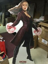 CAPTAIN AMERICA CIVIL WAR SCARLET WITCH LIFESIZE STANDUP STANDEE CUTOUT POSTER