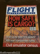 FLIGHT INTERNATIONAL # 4872 - HOW SAFE IS CARGO - MARCH 4 2003