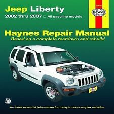 2002-2007 Haynes Jeep Liberty Repair Manual