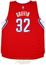 BLAKE GRIFFIN Autographed Red Clippers Jersey PANINI