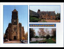 CHAMPIGNE (49) CHATEAU de la HAMMONIERE , EGLISE & PLAN D'EAU
