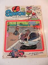 SPIROU LE JOURNAL DE SPIROU 2090 couv JIDEHEM supplement SKATEBOARD 1978