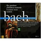 JOHANN SEBASTIAN BACH The Passions FRITZ WERNER 10 CD BOX SET  NEW -STILL SEALED