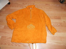 Sportalm Fleece Windbreaker Jacket Orange Kitzbuhel