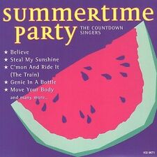 Summertime Party Countdown Singers MUSIC CD