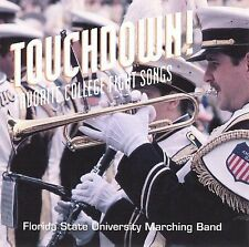 Fsu Marching Band Touchdown: Favorite College Fight Songs CD ***NEW***