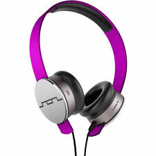 Sol Republic Tracks V10 HD On-Ear Headphones Violet 1241-28 NIB