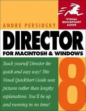 Director 8 for Macintosh and Windows by Andre Persidsky (2000, Paperback)