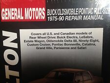 BUICK Electra LeSabre Estate Wagon 1975 ~1990 Rear Wheel Drive Service Manual