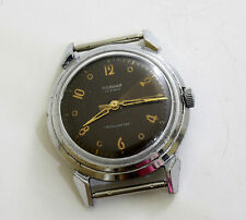 Vintage Russian USSR RODINA AUTOMATIC 22 jewels Kirova 1MWF watch 1950's