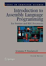 Introduction to Assembly Language Programming : For Pentium and RISC...