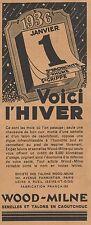 Y8695 Talons et Semelles WOOD-MILNE - Pubblicità d'epoca - 1936 Old advertising