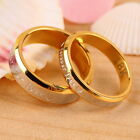 Fashion Forever Love Lovers Couple Matching Ring Steel Finger Ring Jewelry hp