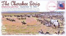 COVERSCAPE computer designed 120th anniversary of the Cherokee Strip event cover