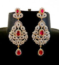 Wedding Wear CZ Earring-American Diamond Earring-CZ Jewellery-Gift for her-ADE27