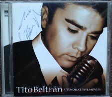 Signed! TITO BELTRAN: A TENOR AT THE MOVIES Opera Latin CD 1998 Film Mario Lanza
