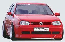 Rieger front spoiler labbro per VW Golf 4 3-Porte/5-Porte/Variant