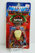 MOTU, Rattlor, Masters of the Universe, MOC, carded, He-Man, figure, complete