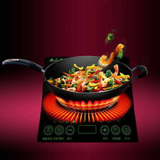 2000W 220V Ultra-thin Single Burner Induction Cooktop Stove Electric Cooker