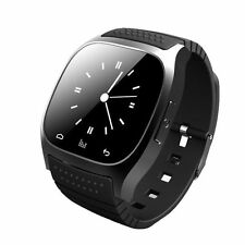 Bluetooth Smart Watch Per Android & IOS Dispositivi Interna Mic & Altoparlante