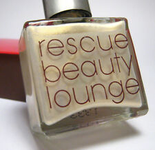 RBL Rescue Beauty Lounge Nail Polish MOXIE Metallic White Gold Shimmer ~ BNIB
